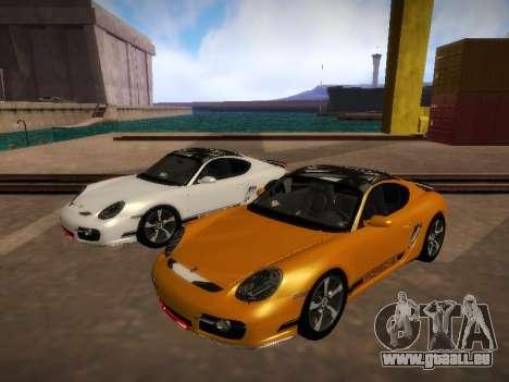 Porsche Cayman R 2007 für GTA San Andreas linke Ansicht