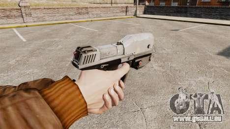 Pistolet M6G de la v1 de Magnum pour GTA 4 secondes d'écran