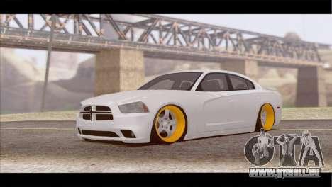 Dodge Charger SRT8 pour GTA San Andreas laissé vue
