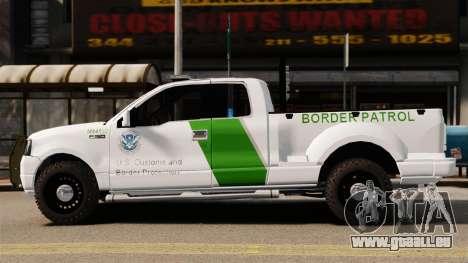 Ford F-150 v3.3 Border Patrol [ELS & EPM] v3 pour GTA 4 est une gauche