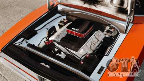 Dodge Charger General Lee 1969 für GTA 4 Innenansicht