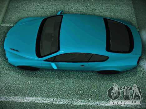 Bentley Continental GT pour GTA San Andreas sur la vue arrière gauche