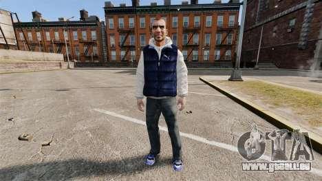 Habits neufs pour Hossan pour GTA 4
