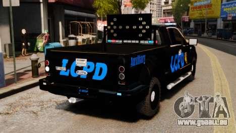 Ford F-150 v3.3 LCPD Auxiliary [ELS & EPM] v2 pour GTA 4 Vue arrière de la gauche
