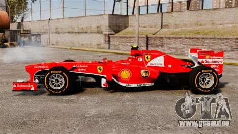 Ferrari F138 2013 v2 für GTA 4 linke Ansicht