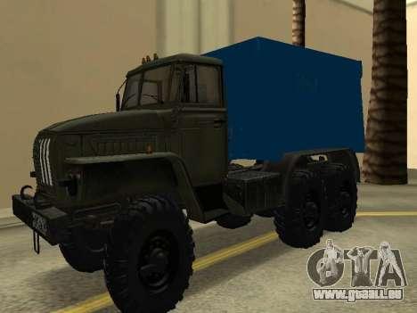 Ural 4320 Tonar pour GTA San Andreas