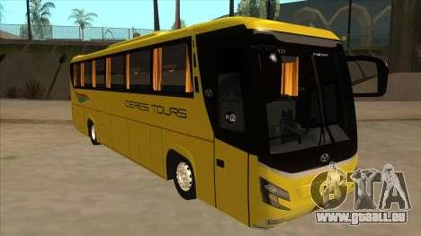 Yanson Legacy - CERES TOURS 55003 für GTA San Andreas linke Ansicht