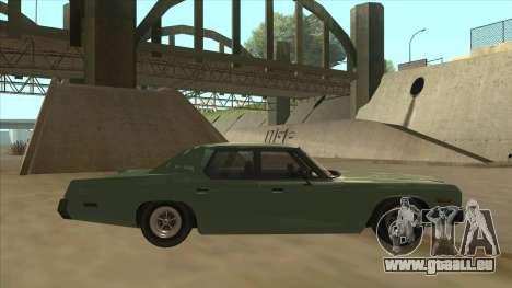 Dodge Monaco V10 für GTA San Andreas zurück linke Ansicht