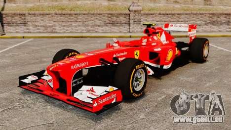 Ferrari F138 2013 v2 für GTA 4