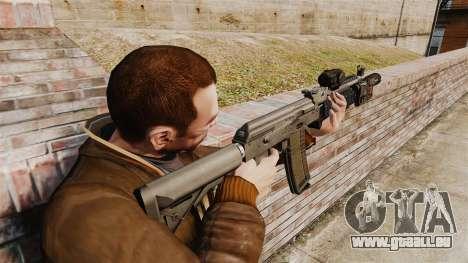 AK MM118 automatique pour GTA 4 secondes d'écran