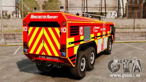 Camion Hydramax AERV v2.4-EX Manchester für GTA 4 rechte Ansicht
