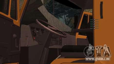 KAMAZ 260 Turbo für GTA San Andreas Seitenansicht