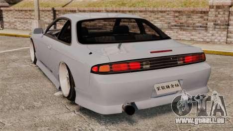 Nissan Silvia S14 für GTA 4 hinten links Ansicht