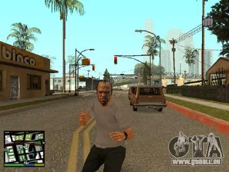 Trevor Philips de GTA 5 pour GTA San Andreas deuxième écran