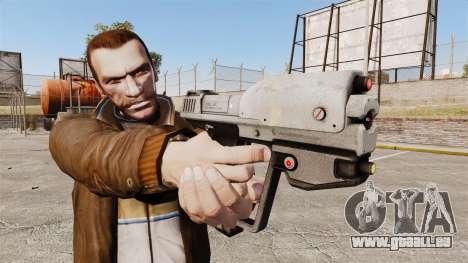 Pistolet M6G de la v1 de Magnum pour GTA 4 troisième écran