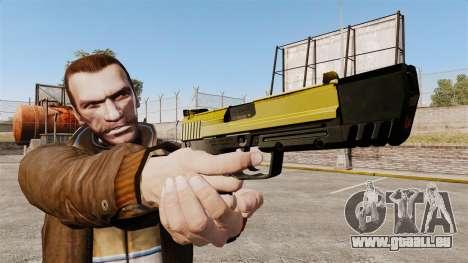 Ladewagen Pistole USP H & K v4 für GTA 4 dritte Screenshot