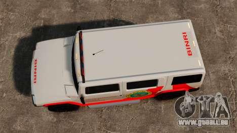 Nouveau Coloriage Noose Patriot pour GTA 4 est un droit