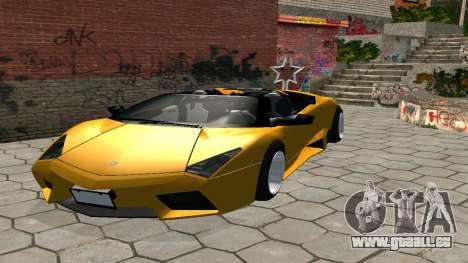 Lamborghini Reventon Shakotan für GTA San Andreas