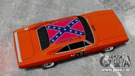 Dodge Charger 1969 General Lee v2 für GTA 4 rechte Ansicht