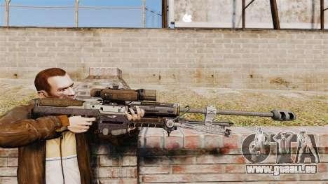 Halo Reach-Scharfschützengewehr SRS-99 für GTA 4