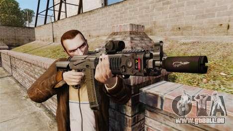 Automatische MM118-AK für GTA 4 dritte Screenshot
