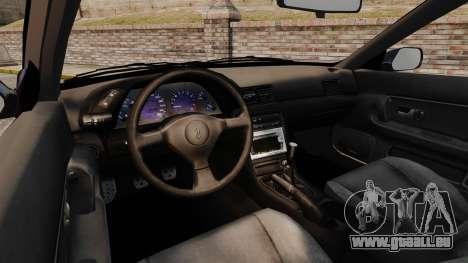 Nissan Skyline R32 GTS-t pour GTA 4 Vue arrière