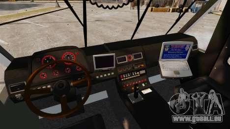 Camion Hydramax AERV v2.4-EX Manchester für GTA 4 Innenansicht