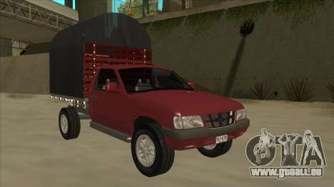 Chevrolet Luv 2.500 diesel pour GTA San Andreas laissé vue