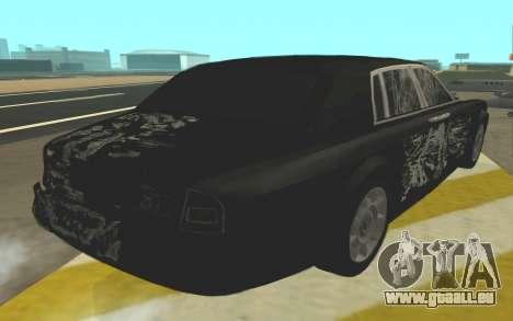 Rolls-Royce Phantom für GTA San Andreas Seitenansicht