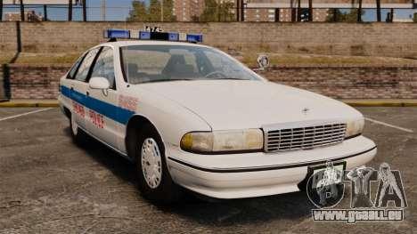 Chevrolet Caprice 1991 [ELS] v1 pour GTA 4