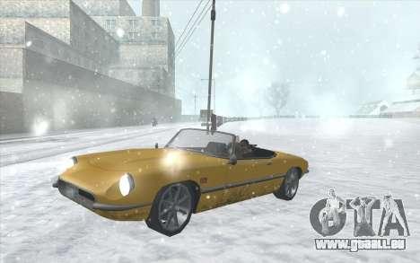 Snow San Andreas 2011 HQ - SA:MP 1.1 für GTA San Andreas achten Screenshot