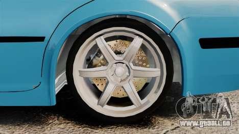 Volkswagen Bora pour GTA 4 Vue arrière