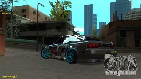 Nissan Silvia RPS13 CIAY pour GTA San Andreas vue de droite