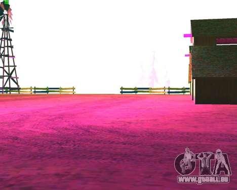 NarcomaniX Colormode pour GTA San Andreas deuxième écran