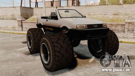 Futo Monster Truck pour GTA 4