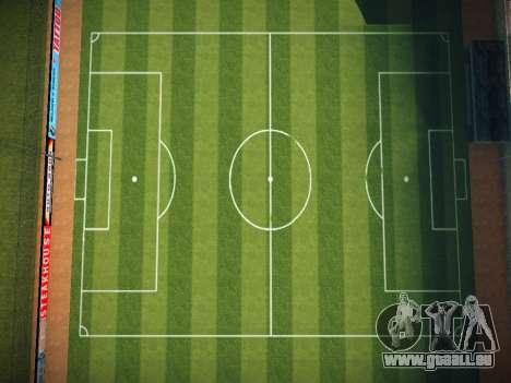 Terrain de soccer pour GTA San Andreas deuxième écran