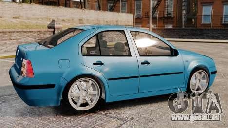 Volkswagen Bora pour GTA 4 est une gauche