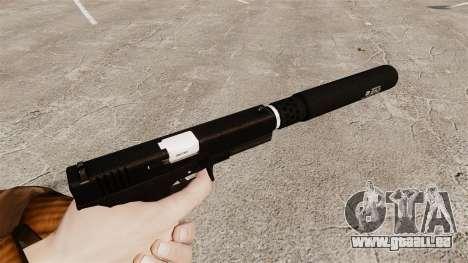 Glock 17 Ladewagen Pistole v1 für GTA 4 Sekunden Bildschirm
