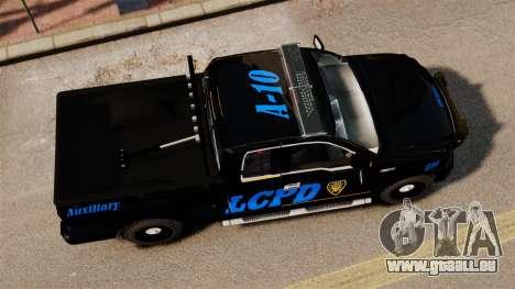Ford F-150 v3.3 LCPD Auxiliary [ELS & EPM] v2 pour GTA 4 est un droit