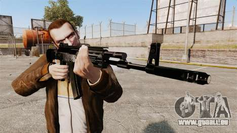 KALASHNIKOV AK-12 pour GTA 4 troisième écran