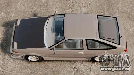 Toyota Corolla GT-S AE86 Trueno pour GTA 4 est un droit
