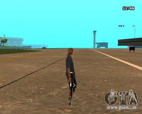 White Chrome Sniper Rifle für GTA San Andreas her Screenshot