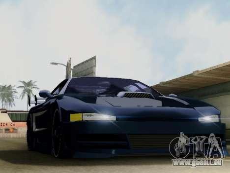 Infernus DoTeX pour GTA San Andreas laissé vue