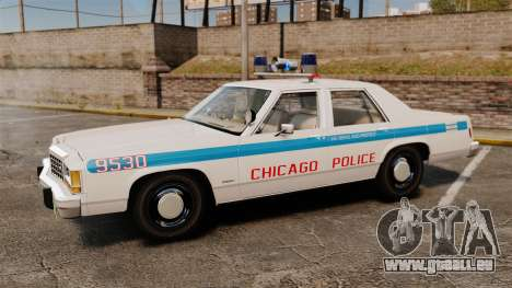 Ford LTD Crown Victoria 1987 [ELS] für GTA 4 linke Ansicht