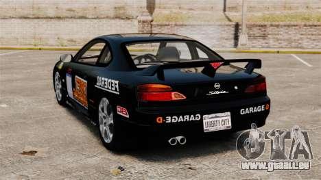 Nissan Silvia S15 v4 pour GTA 4 Vue arrière de la gauche
