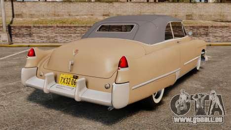 Cadillac Series 62 convertible 1949 [EPM] v4 für GTA 4 hinten links Ansicht
