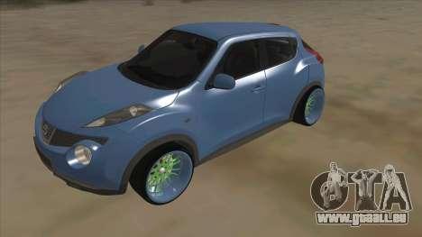 Nissan Juke Lowrider pour GTA San Andreas