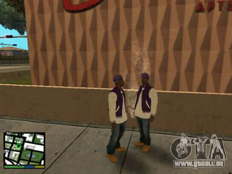 Ballas pour GTA San Andreas deuxième écran