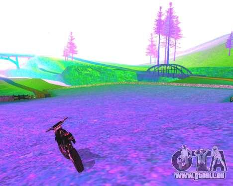 NarcomaniX Colormode pour GTA San Andreas troisième écran