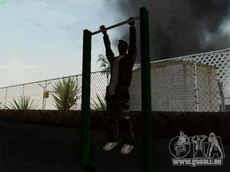 Barre fixe pour GTA San Andreas